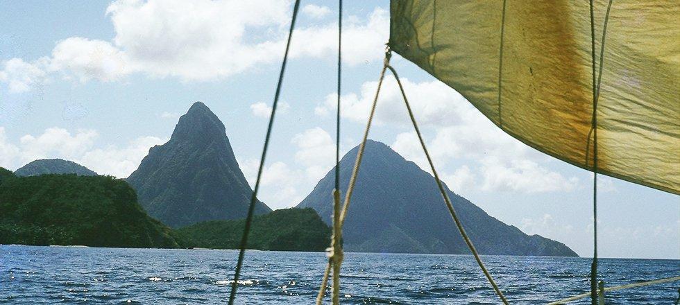 Sainte Lucie, Antilles